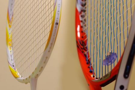 ストリンギング バドミントン&テニスラケット