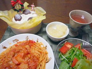聖夜のディナー