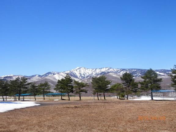 4月の四阿山