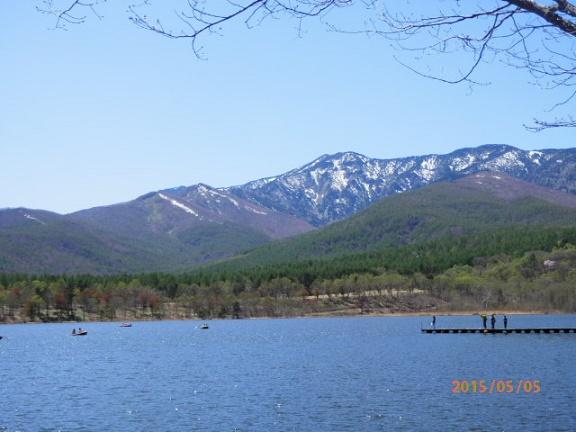 5月のバラギ湖&四阿山