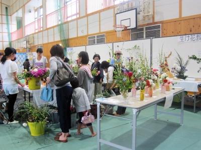 開田高原文化祭会場風景