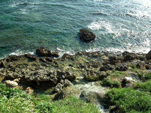 慶座絶壁の遊歩道からの風景(2)