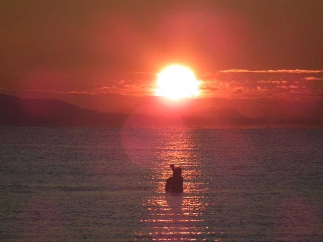 2016年初日の出・茅ヶ崎サザンビーチ(5)
