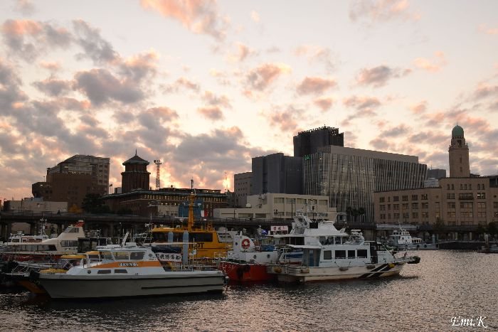 043-Emi-横浜港キングの塔-クィーンの塔