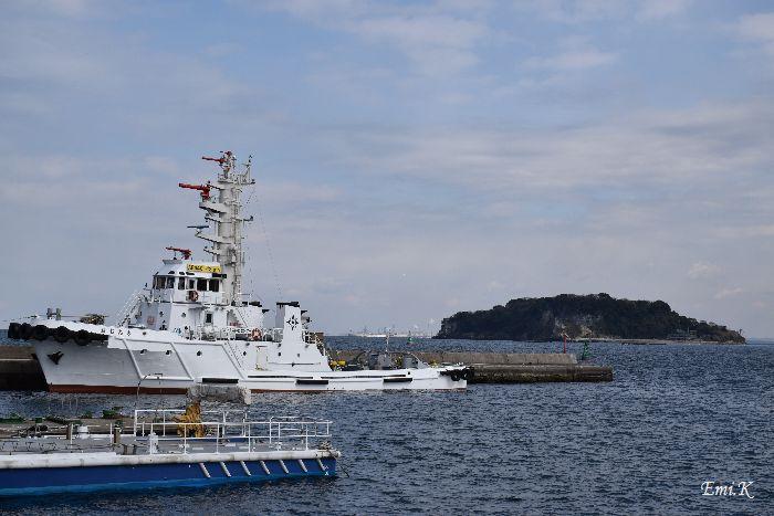 004-猿島&船