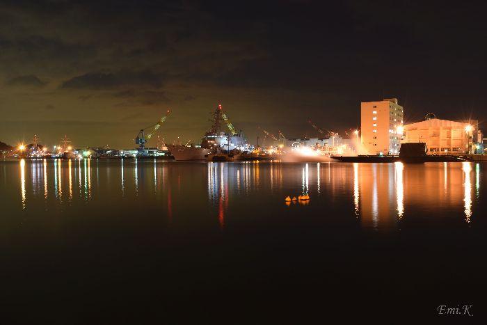 077-New-Emi-横須賀製鉄所(造船所)ドライドッグ米海軍の艦船