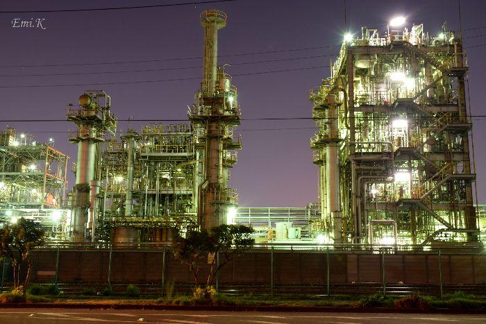 046-工場夜景