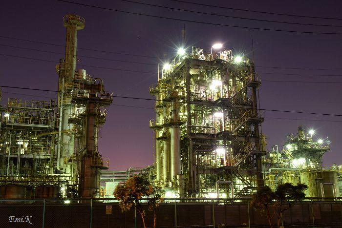 048-工場夜景