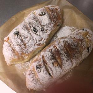 151113ドライフルーツのパン(自作)