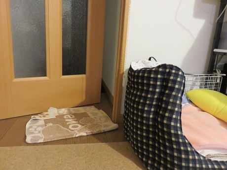 ベッドの置き場所