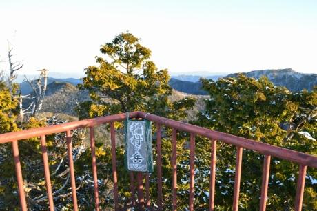 6稲村ヶ岳は展望台がある