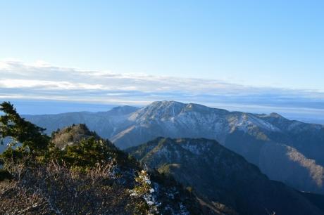 7大峰山最高峰、八経ヶ岳