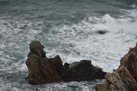 5人形岩・・・人魚岩?