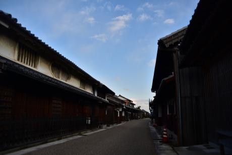 6東海道唯一の街並み?
