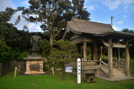 3南洲 文庫と銅像