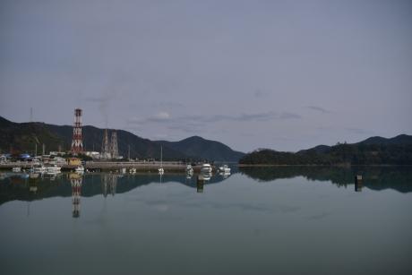 1凪いだ海面