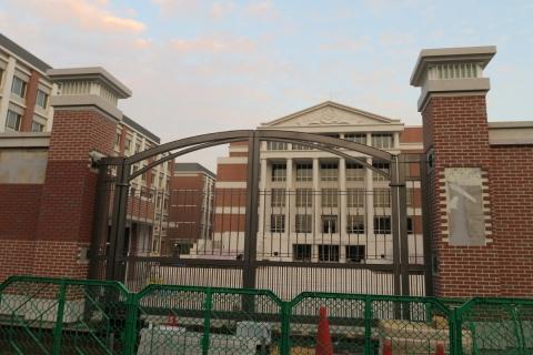 18杏林大学建設中