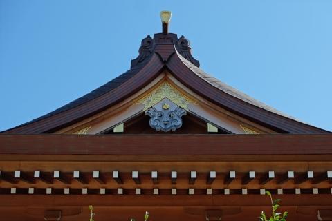 10菅原神社の拝殿