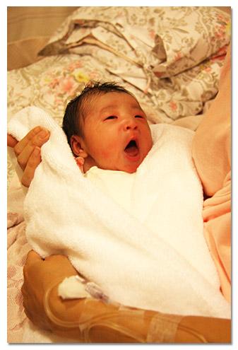 ベビー誕生