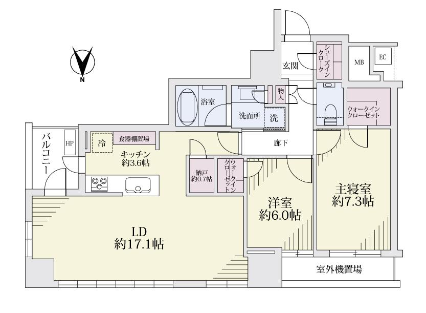 サンクタス川崎タワー23F