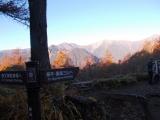 夜叉神峠からの眺望