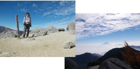 今年最初で最後の南アルプス~薬師岳