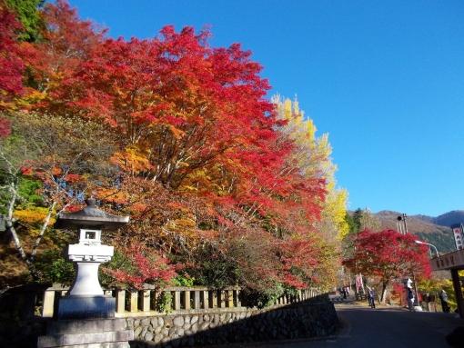 奥多摩から秩父の三峯神社へ