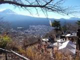 カチカチ山の展望台