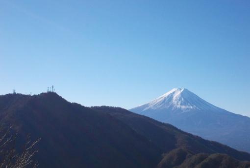 極上のトレイル(三ツ峠山~河口湖)