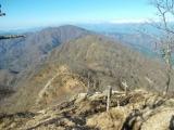 熊笹ノ峰、大室山へと延びる尾根