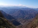 富士山と手前のゴーラ沢