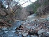 日陰沢の川筋