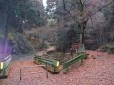 奈良子峠方面への分岐