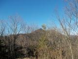 大岳山を振り返る
