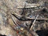 石尾根直下の水場