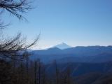 石尾根からの富士山