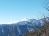 この日初の富士山