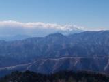 石尾根から望む富士山