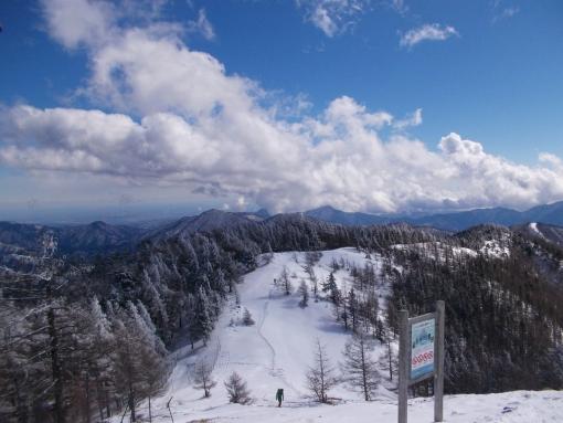 2月に連続で低山スノーハイク