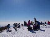 再び塔ノ岳の頂上