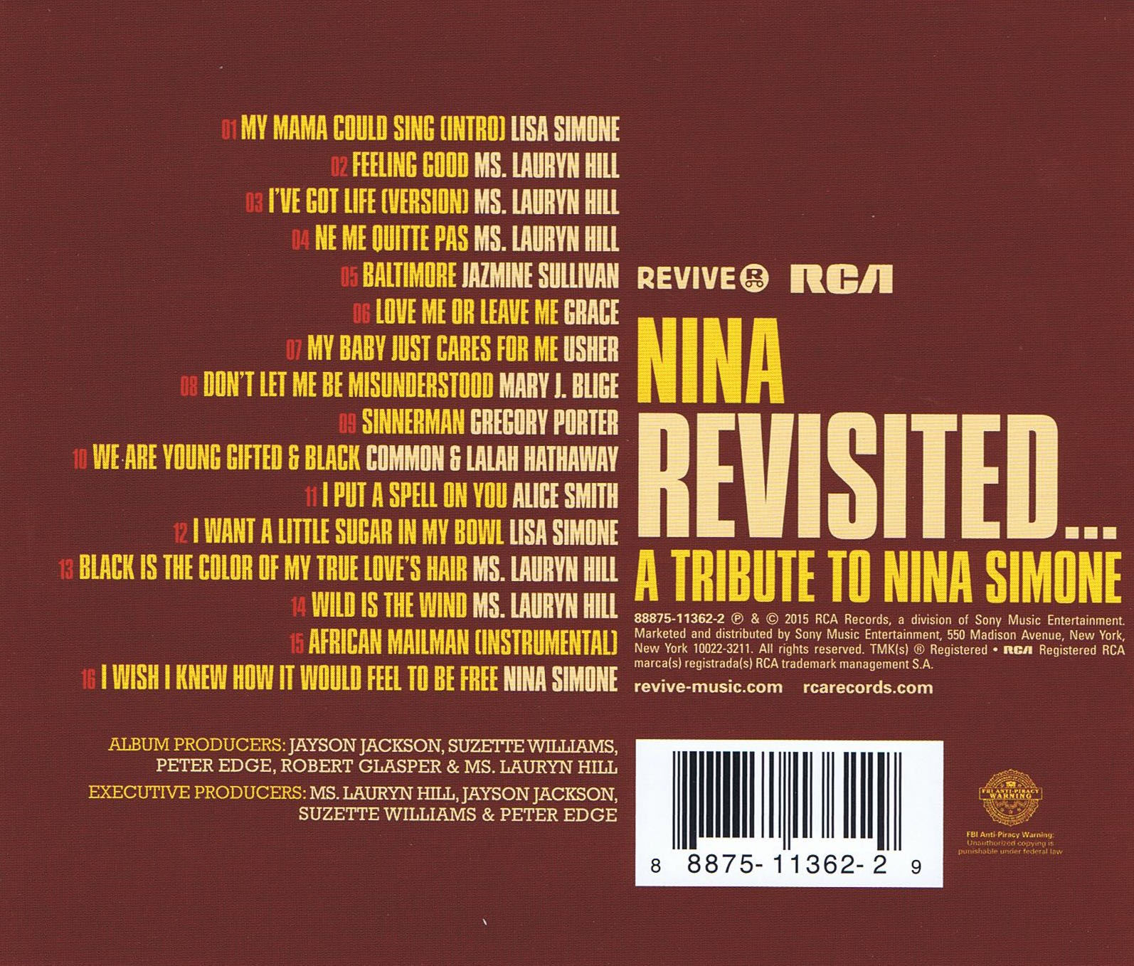 Nina Revisited Back