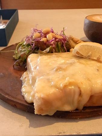 トマトとチーズのトースト(ドリンク・サラダ付き) THE COFFEE BAR 大供本町店