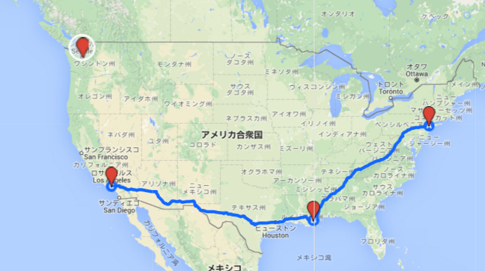 amtrack map