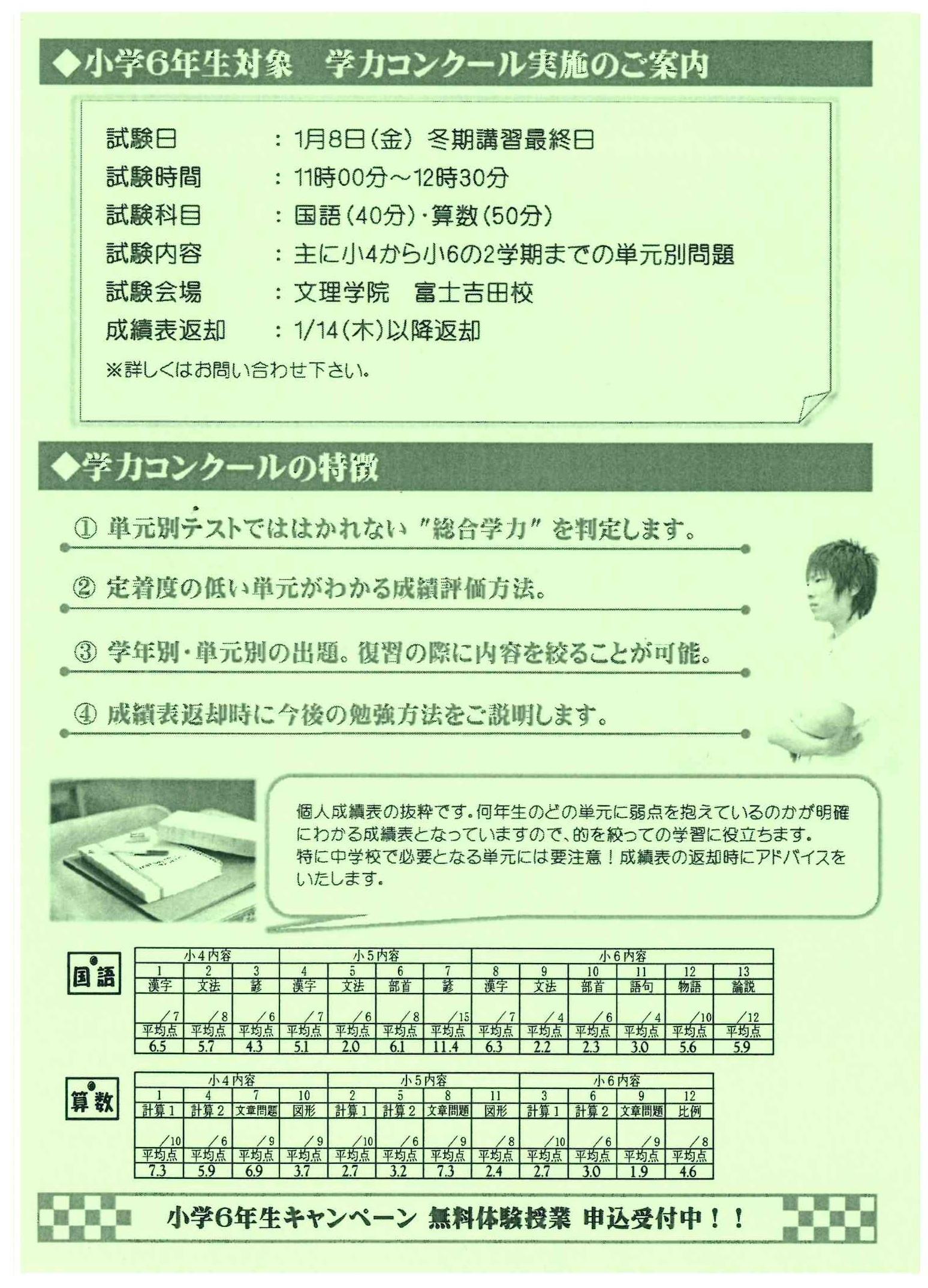学力コンクール2