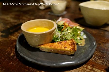Franchise・Nature◇ディナーのサラダとスープ