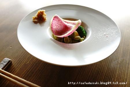 御料理屋kokyu.◇本日の野菜盛