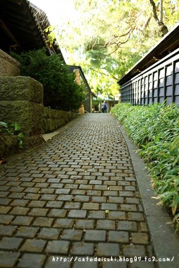 栗の小径◇長野県小布施町