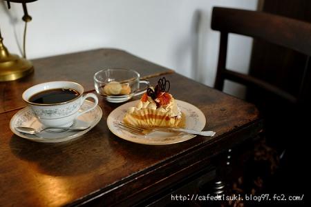 Lamp Cafe◇あんずのキャラメルチーズタルト