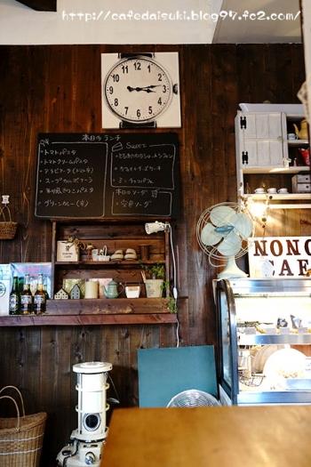 NONOWA CAFE◇店内