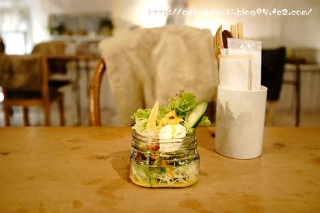 Rectangle cafe◇パスタセットのミニサラダ